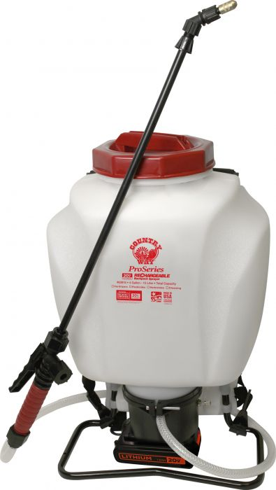 20V Rechargeable 4 Gallon BackPack Sprayer 63915