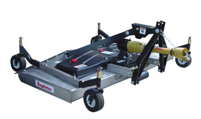 King Kutter 84 inch Rear Discharge Stainless Steel Finishing Mower RSFM SS  84 FH
