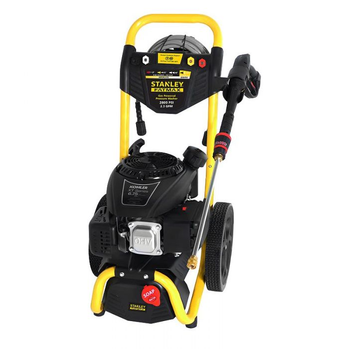 Stanley Fatmax SXPW2823K 2800 PSI 23 GPM Gas Pressure Washer Powered by  KOHLER 60901