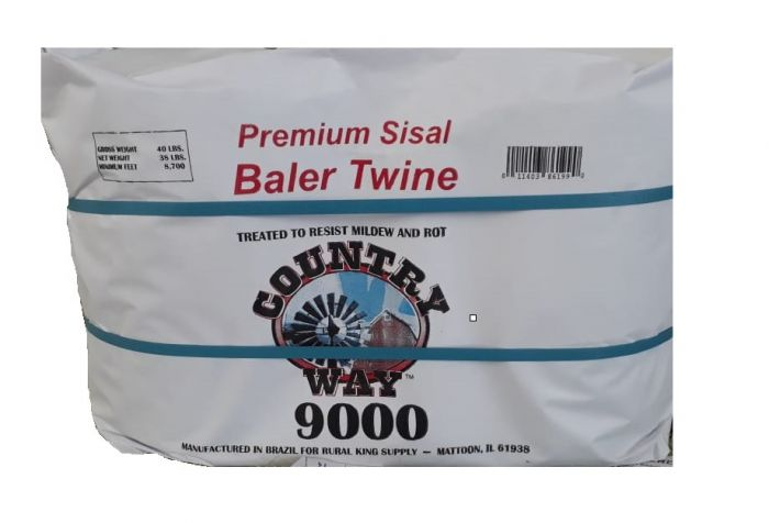 Country Road Premium Sisal Baler Twine 9000 Foot 10007200