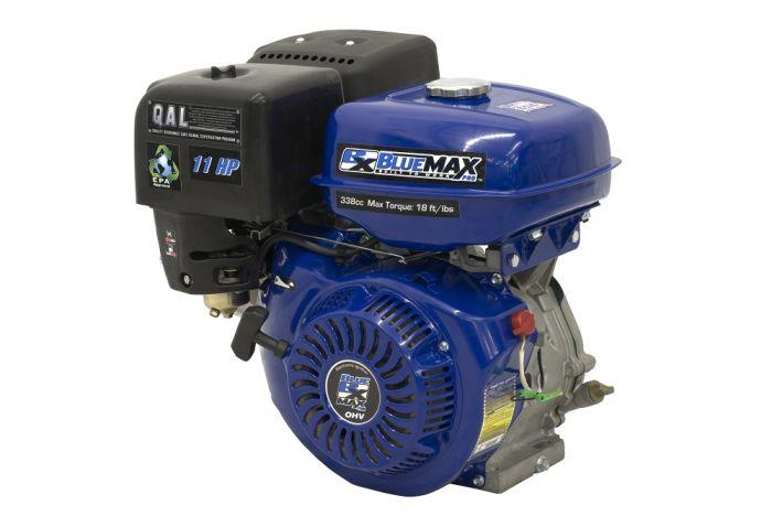 Blue Max 11 HP 4-Stroke Gas Powered 340 CC Engine Horizontal Shaft 6785