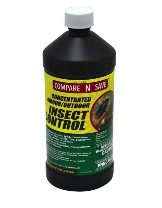 Compare -N -Save 7 9% Bifenthrin Concentrate Indoor and Outdoor Insect  Control - 32 -oz 75366