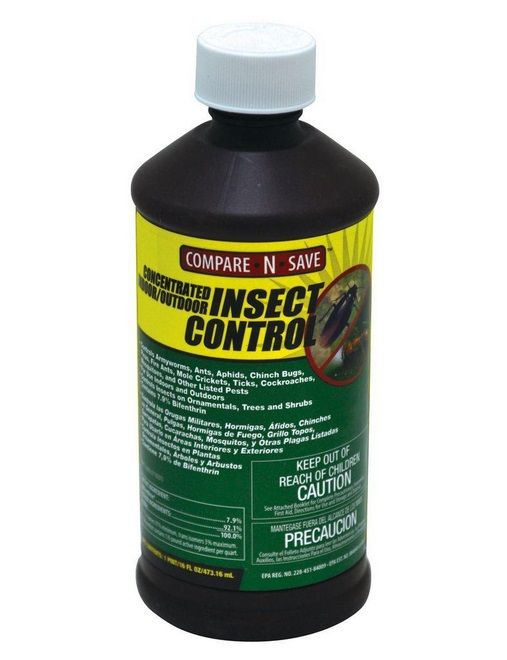 Compare -N -Save 7 9% Bifenthrin Concentrate Indoor and Outdoor Insect  Control - 16 -oz 75367