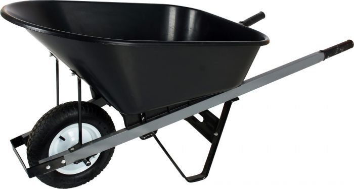 Poly 6 Cubic Feet Wheelbarrow Wb10p