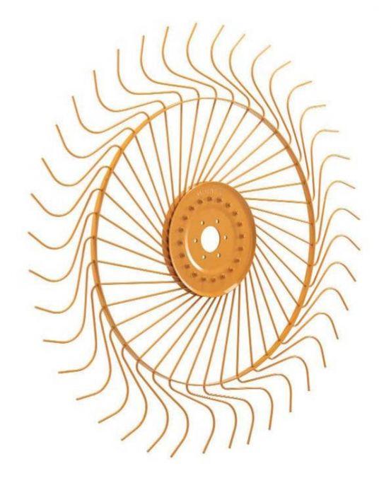 Calco Right Hand Rake Wheel 55 inch 7mm W16 0801