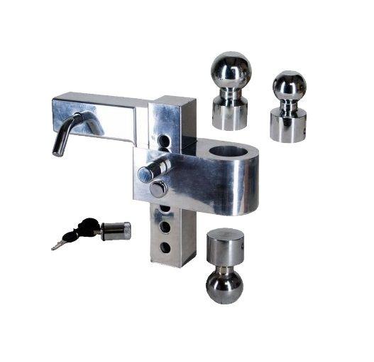 Adjustable Tow Hitch >> Aluma Aluminum Adjustable Tow Hitch Ut623900