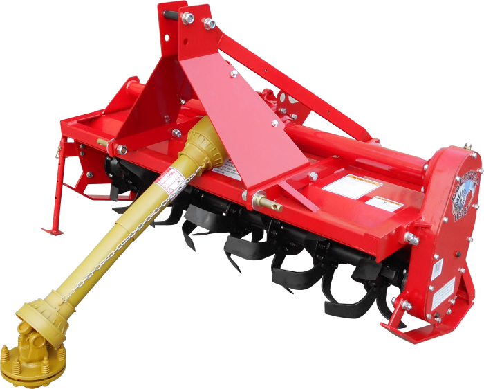 5 Foot Rotary Tiller with PTO ShaFoot RT5