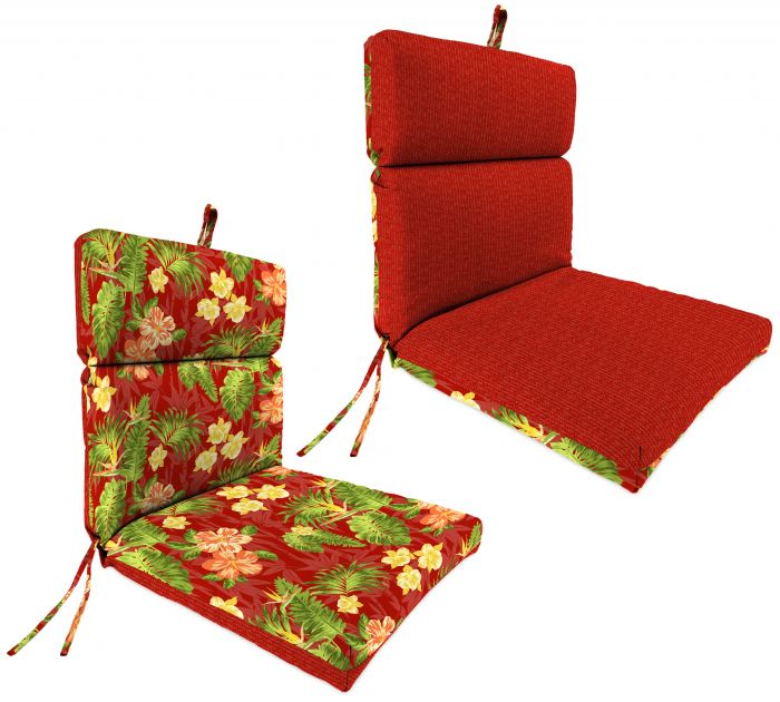 Jordan Manufacturing French Edge Stripe And Floral Patio Chair
