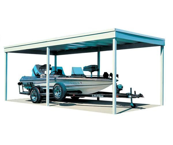 Arrow 10 X 20 Freestanding Carport Cp1020