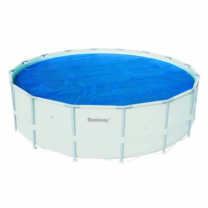 Bestway 16 ft. Solar Pool Cover (Metal Frame) 58253E