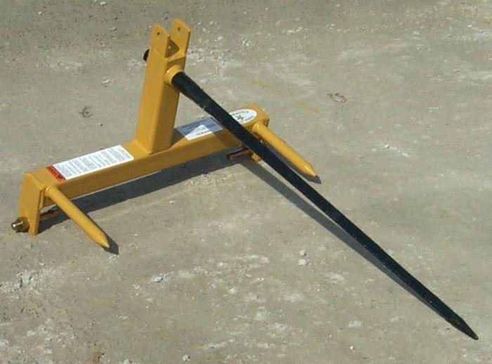 Farm Star BSF 1523 3 pt  Bale Spear 1800 lbs 830235