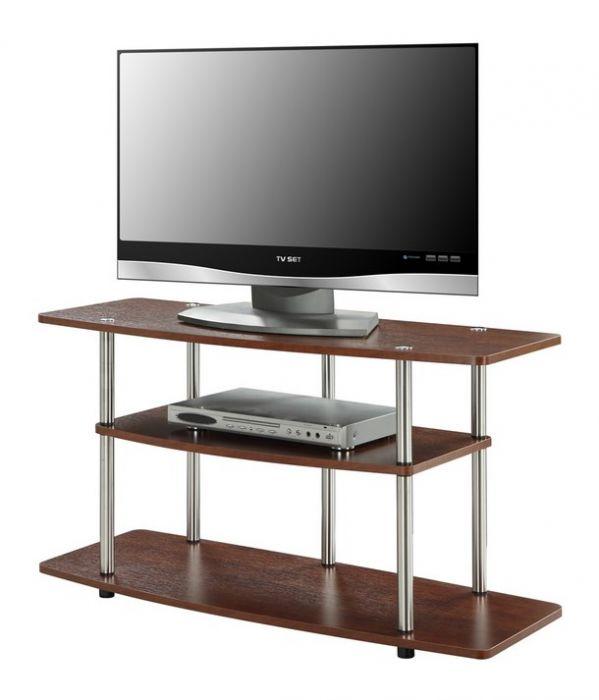 Convenience Concepts Designs2go 3 Tier Wide Tv Stand R5 150