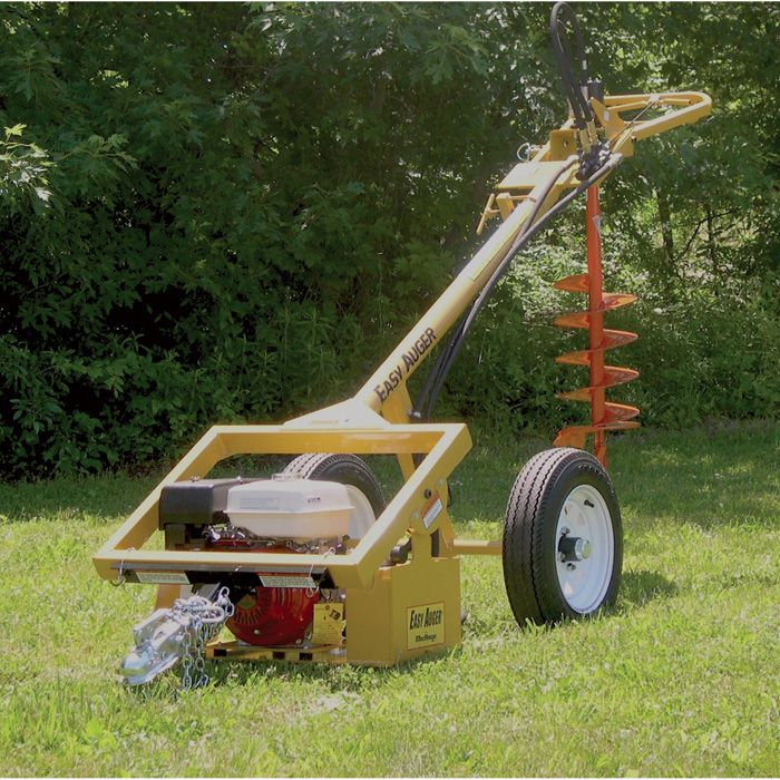 Easy Auger Hydraulic Earth Drill EA93H