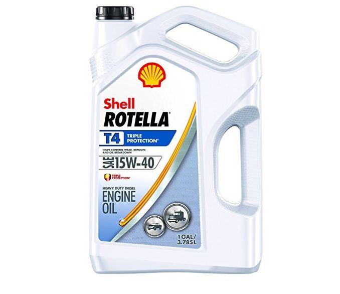 Shell Rotella T4 15W-40 Motor Oil 1 Gallon - 550045126