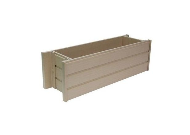 New Age Garden Ecoflex 30 Inch Window Box Planter Epwb103 R30