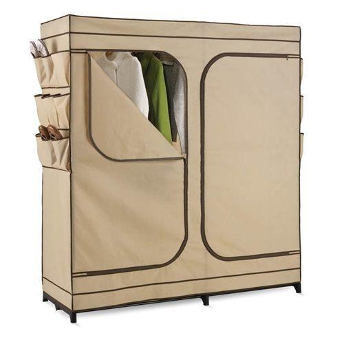 Honey Can Do 60 Portable Cloth Wardrobe Storage Closet Wrd 01272