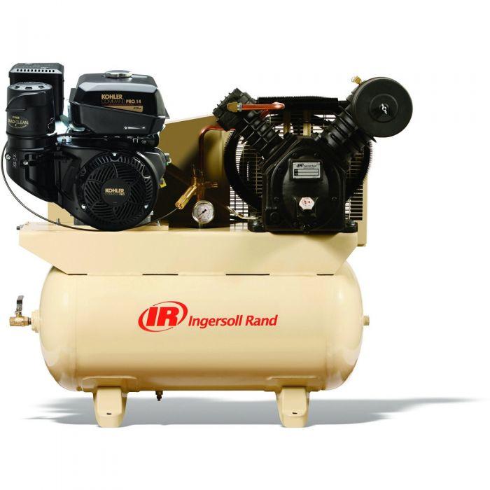 Rural King Air Compressor >> Ingersoll Rand Air Compressor 14hp 30 Gallon Kohler 2475f14g 46821344