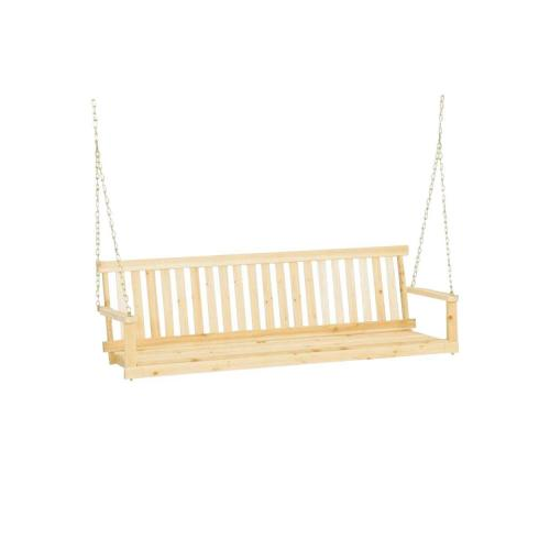 Jack_post_5_ft_traditional_wood_porch_swing_h 25_1 Png