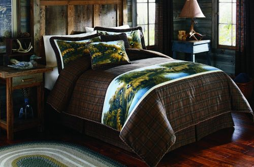 Mountain Woods Furniture Wyoming Collection California King Size Bed