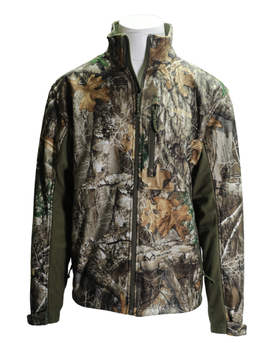 a958a5eb58648 Lincoln Outfitters Men's Realtree Edge Camo Soft Shell Jacket P4191