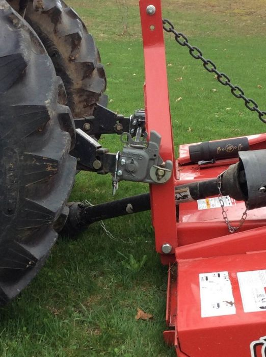 Pats Category 1 Premium 3 Point Quick Change Hitch with Bar - 102ST