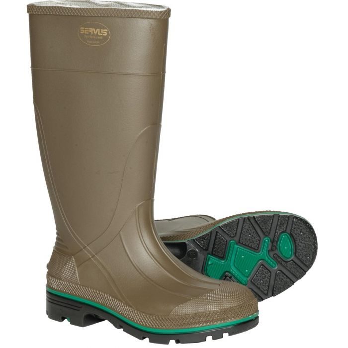 471200541db Servus by Honeywell Northerner Series MAX - PVC Waterproof Boots - Olive  Green - 75120