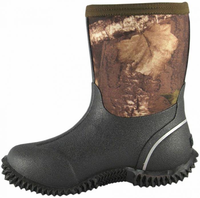 4b0bf883fdd Smoky Mountain Kid's Camo Amphibian Rubber Boot 2736