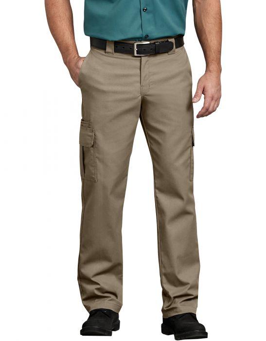 3ec297a4f1da0 Dickies Men s FLEX Regular Fit Straight Leg Cargo Pants WP595DS