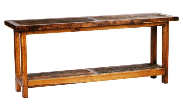 Mountain Woods Furniture Wyoming 6 Foot Sofa Table - WY-ST6