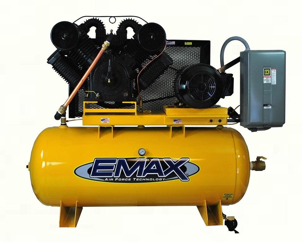 King Air Air Compressors : Emax industrial hp gallon v horizontal air