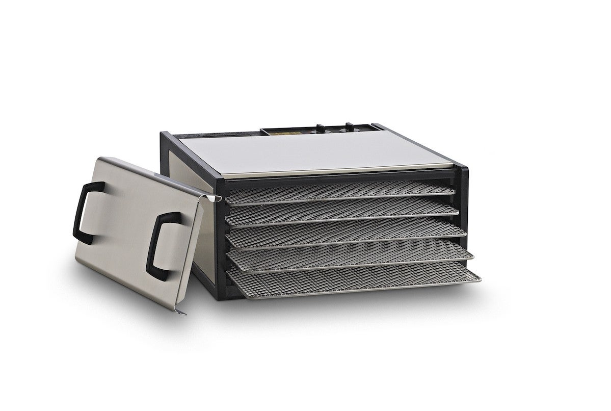 White 1000 w 4 Tray Digital Adjustable Thermostat Auto off Timer Food Dehydrator