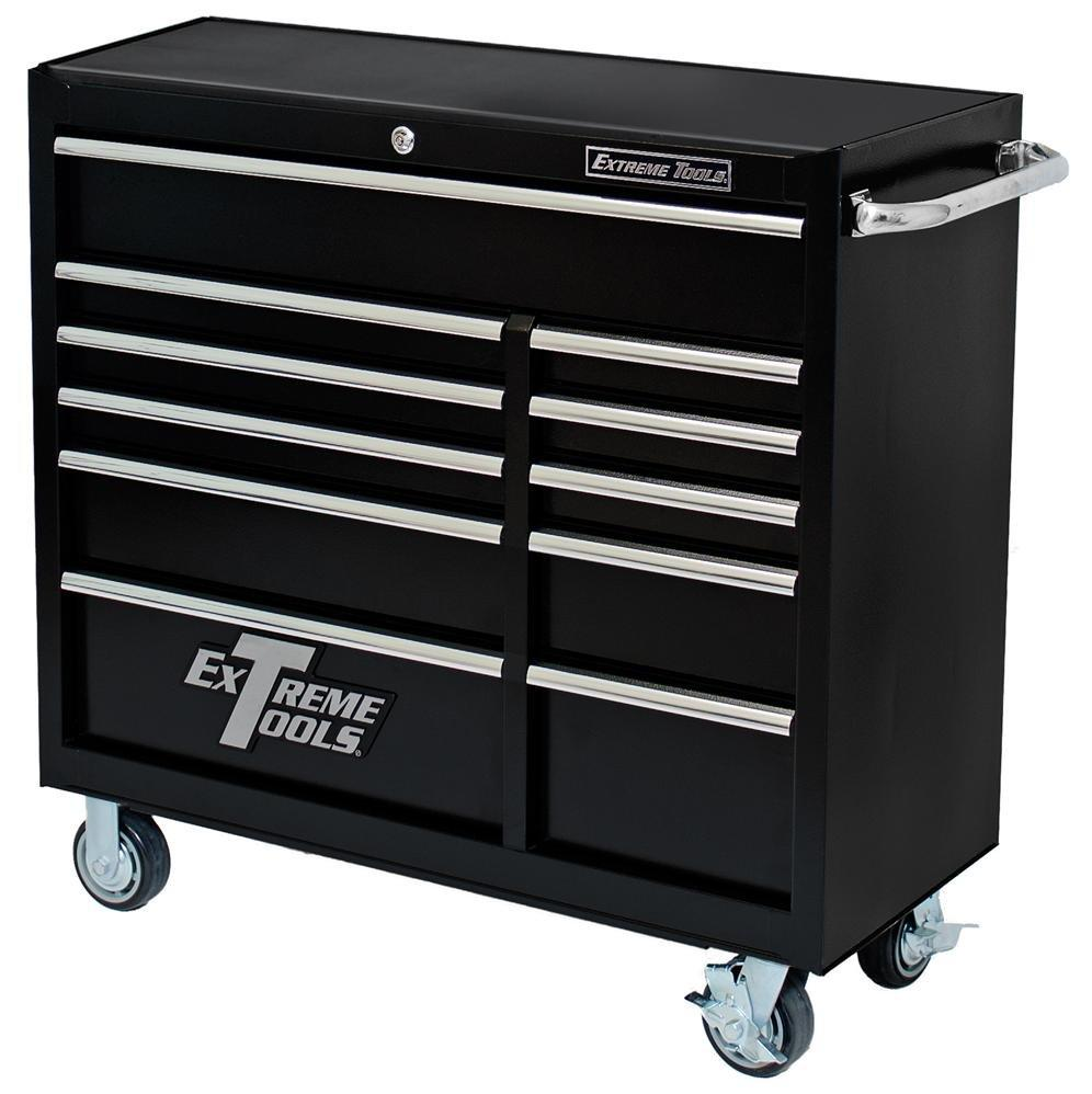 Extreme tools 41 in 11 drawer roller cabinet pws4111rctx - Sideboard bei roller ...