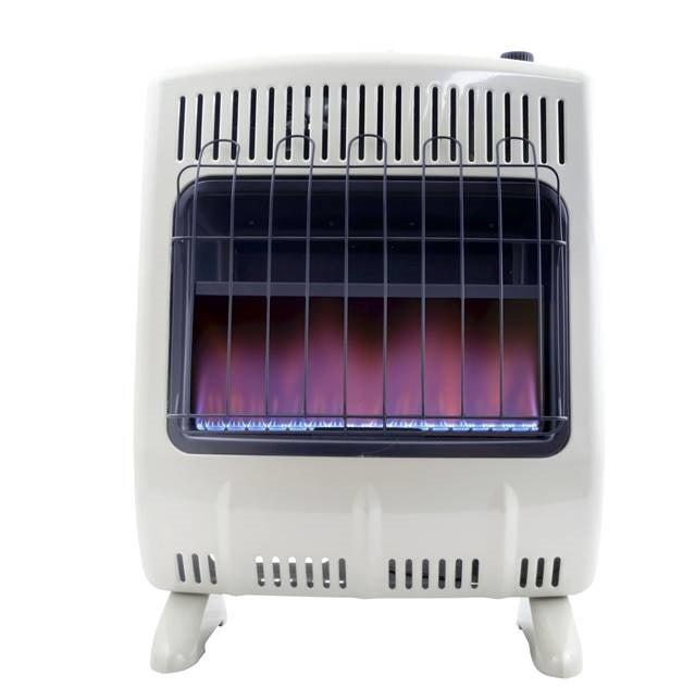 Mr Heater 20 000 Btu Propane Blue Flame Heater