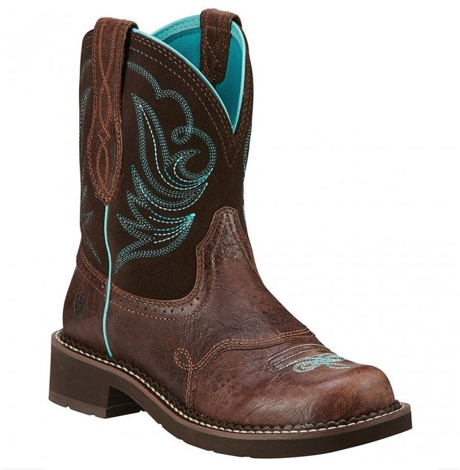 Ariat Women S Fatbaby Heritage Dapper Boots Brown