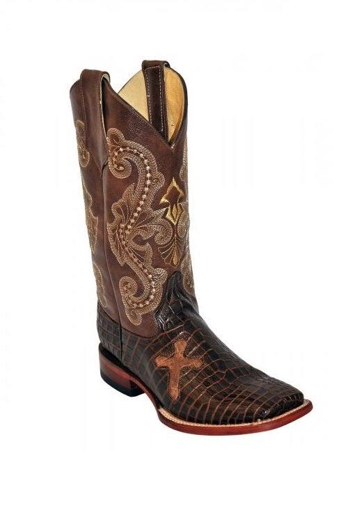 ferrini s brown belly caiman print boots 40793 10 ebay