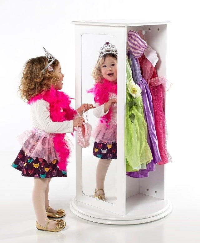 Guidecraft Rotating Dress Up Storage G9930 Ebay