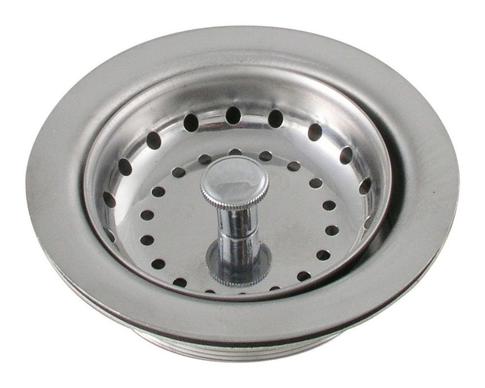 LDR Duo Kitchen Sink Strainer Heavy Gauge Stainless Steel 501 1200 ...