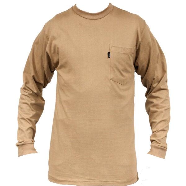 Key Industries Men 39 S Heavyweight Pocket Long Sleeve T