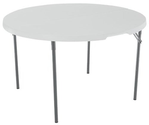 lifetime 4 foot folding round table