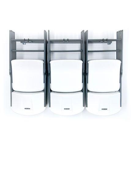 Monkey Bars Storage Folding Chair Rack