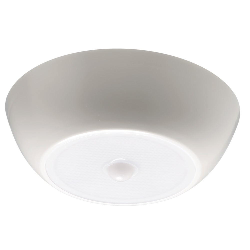 Led Ceiling Lights With Sensor: Mr. Beams 300-Lumen In/Outdoor Motion Sensor LED Ceiling Light MB990