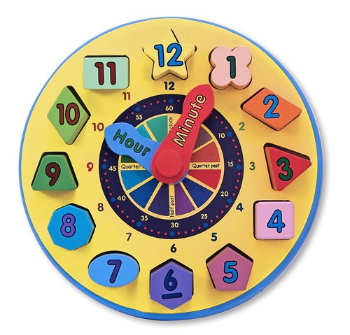 Melissa and Doug Shape Sorting Clock 159