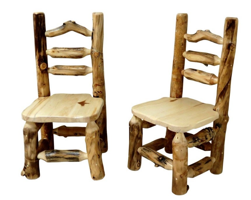 Mountain Woods Furniture Aspen Grizzly Dining Chair AG DC