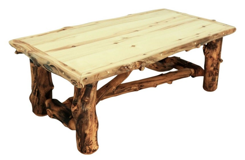 Mountain Woods Furniture Aspen Grizzly Coffee Table AG CT