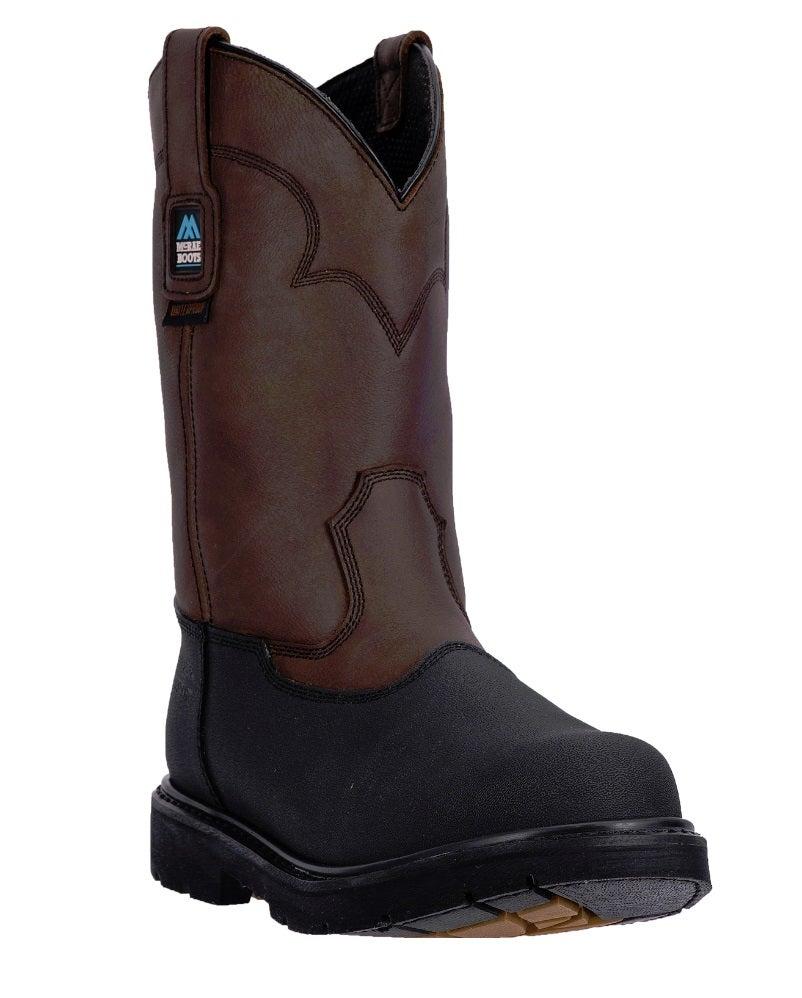 mcrae mens 11 waterproof steel toe boots mr85300 ebay