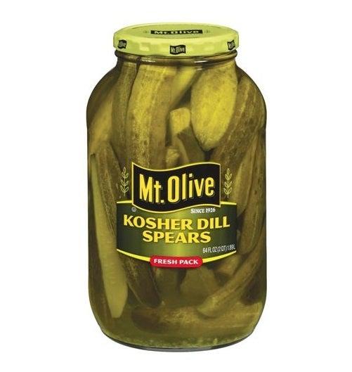 Mt. Olive Kosher Dill Pickle Spears 64 oz. 171 | eBay