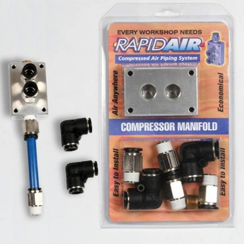 "Rural King Air Compressor >> RapidAir 1/2"" Compressor Manifold Kit 90200 | eBay"