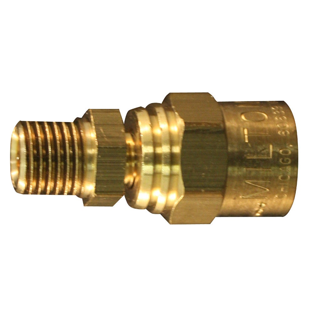 Milton reusable hose end fitting for quot or outer