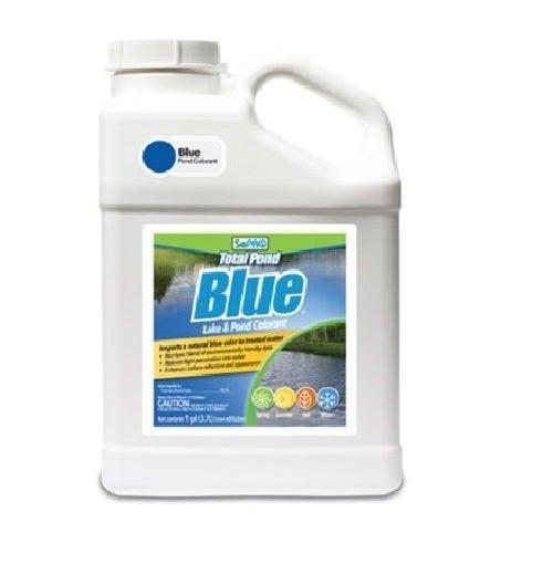 Sepro total pond blue pond dye 1 gallon l01030 ebay for Blue pond dye