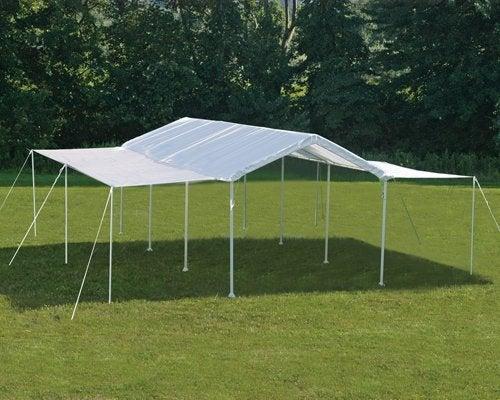 Apartment Patio Tent Shelterlogic 20ft : Shelterlogic  white canopy extension kit ebay